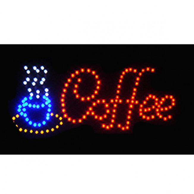 Φωτιζόμενη διαφημιστική πινακίδα LED COFFEE -OEM