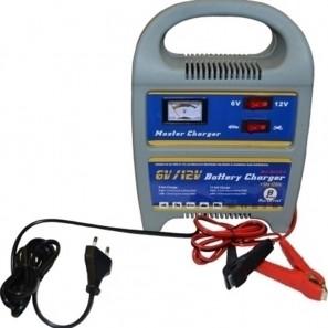 Φορτιστής μπαταρίας με αυξομειωτή αμπερ αυτοκινήτου και μηχανής 6V & 12V BC08A