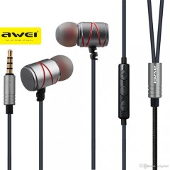 AWEI ES-910TY METALLIC NOISE ISOLATION IN-EAR WITH MIC