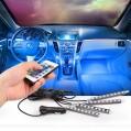 Σύστημα εσωτερικού φωτισμού αυτοκινήτου RGB 12v-OEM