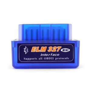 Super Mini ELM327 Bluetooth OBD2 V2.1 Car Diagnostic Interface Tool-OEM