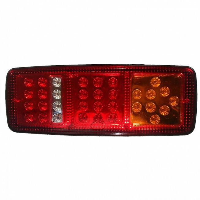 Universal φανάρι πίσω 33 LED 12V/24V για τρακτέρ φορτηγά αυτοκίνητα