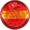 ΣΤΡΟΓΓΥΛΟ ΦΑΝΑΡΙ ΓΙΑ ΠΙΣΩ 24V 25 LED TAIL LIGHTS REAR LAMP FOR TRUCK 68682-9