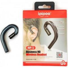 Ασύρματο Ακουστικό Bluetooth Ipipoo NP-1 - Μαύρο