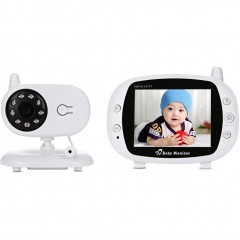 3.5 inch Wireless TFT LCD Video Baby Monitor with Night Vision K32