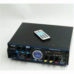 Ραδιοενισχυτής Stereo karaoke USB/SD/Bluetooth Oem 2x50watt Andowl Q-T111
