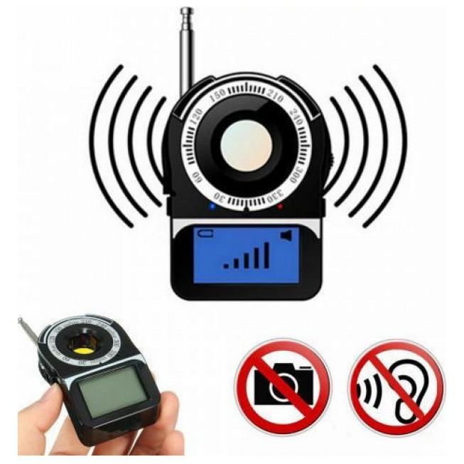 Ανιχνευτής συσκευών παρακολούθησης πλήρους ζώνης με οθόνη Led, Εύρος συχνότητας ανίχνευσης: 1MHz-6500MHz