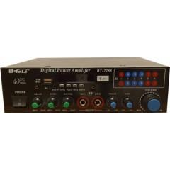 Ενισχυτής Audio Teli BT-7288 ,Karaoke, Radio, Bluetooth, Usb ,TF card, Mp3 , 2 x Line in , με remote control