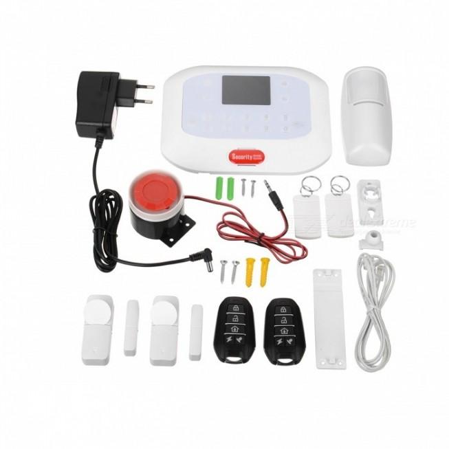 Πλήρες Σύστημα συναγερμού ασφαλείας με λειτουργία GSM + PSTN OEM DY-50A