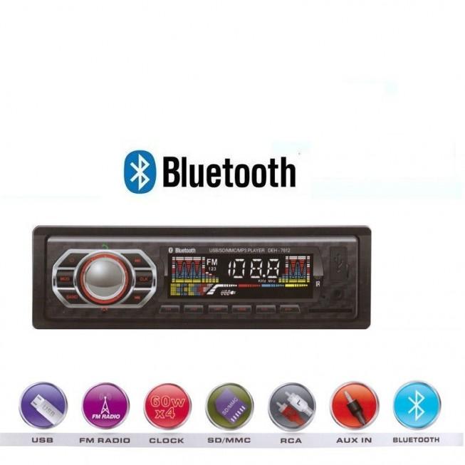 ΗΧΟΣΎΣΤΗΜΑ ΑΥΤΟΚΙΝΉΤΟΥ USB SD BLUETOOTH FM MP3 REMOTE AUX – CDX7613 OEM