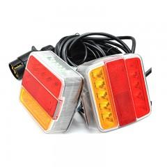 Ζευγάρι Πίσω Φώτα LED Με Μαγνήτη Για Τρέιλερ 12V/24V