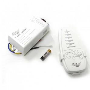 Ασύρματο τηλεχειριστήριο - controller φωτισμού on/off με 4 κανάλια φωτισμού Fomsi Y-I4E