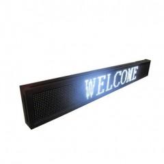 Πινακίδα LED κυλιόμενων μηνυμάτων 100x20 cm