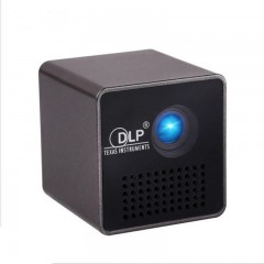 Mini Φορητός DLP βιντεοπροβολέας τσέπης WI-FI Home Movie Theater Unic P1 OEM