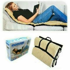Θερμαινόμενη Κουβέρτα/Στρώμα Μασάζ Διπλής Όψης Με 9 Προγράμματα – Massage Double Side Sheepskin
