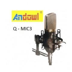 ΜΟΝΟΚΑΤΕΥΘΥΝΤΙΚΟ ΜΙΚΡΟΦΩΝΟ ΗΧΟΓΡΑΦΗΣΗΣ Q-MIC3 ANDOWL