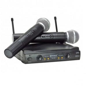 Μικρόφωνα Ασύρματα 2 Χειρός Karaoke UHF Weisre PGX-58